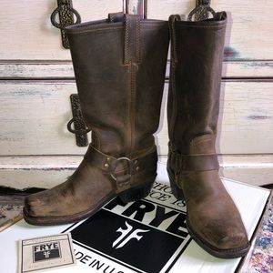 Frye harness boots size 7.5